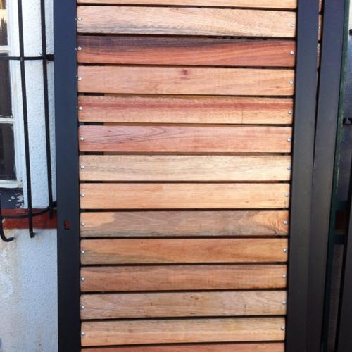 wood driveway gates and wood and steel garden gates johannesburg. Black Bedroom Furniture Sets. Home Design Ideas
