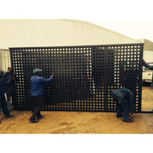 Custom Made Steel Remote Automatic Sliding Driveway Gates