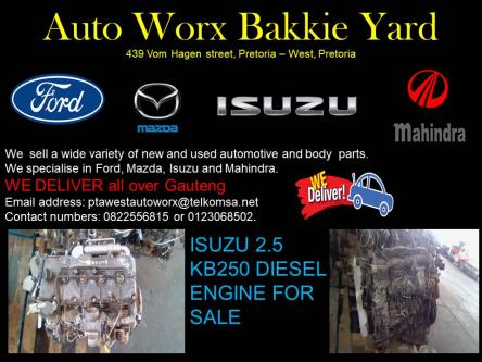 ISUZU 2 5 KB250 DIESEL ENGINE FOR SALE ), Pretoria