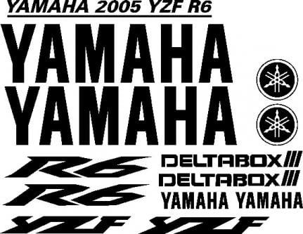 10 Yamaha R3 Decal Graphics Motorcycle YZF 320 Decal Vinyl Kit YR3 Motorcycle Accessories Auto Parts and Vehicles